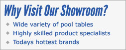 Pool Table Models