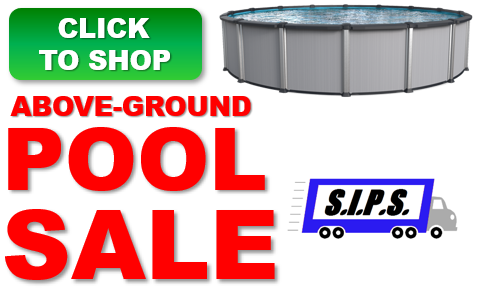 Spring Above Ground Pool Sale - Above Ground Pools In Stock For Immediate Delivery - Shop Now!