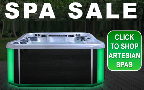 Spa Sale - Over 20+ Models In Stock For Immediate Delivery - Shop Artesian Spas Now!