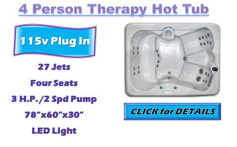 Iris 4 Person Hot Tub - Shop Now!