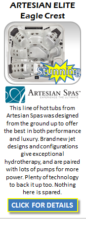 Hot Tub Spa Artesian Elite Eagle Crest Staten Island Pool and Spa