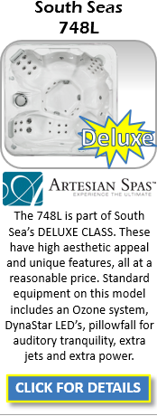 Hot Tub Spa Artesian South Seas 748L Staten Island Pool and Spa
