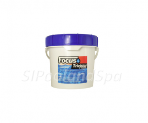 "Focus - 3"" Stabilized Chlorine Tablets - 10lbs."
