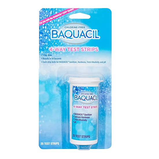 Baquacil 4-Way Test Strips - (25 count)