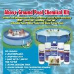 Above Ground Pool Chemical Kit