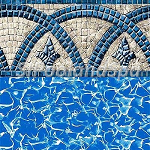 Unibead Liner-Oval Sizes-Catalina - LINERS TEMPORARILY OUT OF STOCK DUE TO COVID 19- PLEASE EMAIL US AT sipoolandspa@gmail.com WITH YOUR POOL SIZE AND ADDRESS WE WILL CHECK STOCK FOR YOUR SIZE