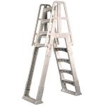 Vinyl Works Slide and Lock A-Frame Ladder